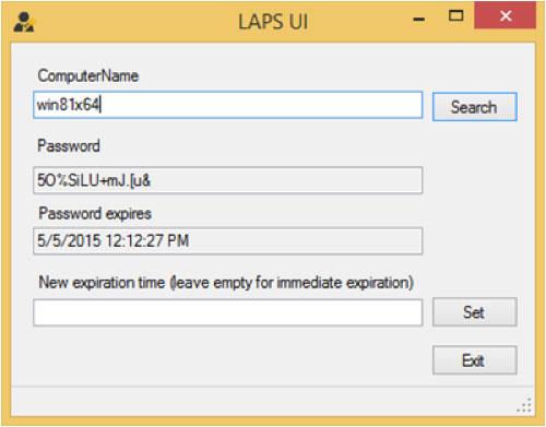 """Bild 5: Das kostenlose Microsoft Tool """"Local Administrator Password Solution"""" von Microsoft ermöglicht es individuelle Administrator-Kennwörter im Active Directory vorzuhalten."""